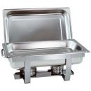 1- 4 Stk. im Set Chafing Dish mit 1/1 GN-Behälter...