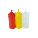 3er Set Quetschflasche R/G/T 0,45 Liter