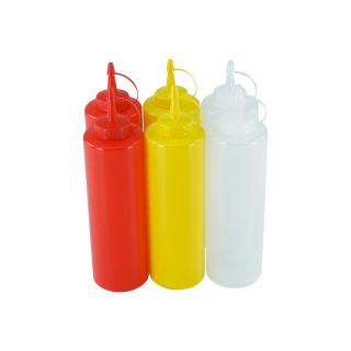 6er Set Quetschflasche R/G/T 0,70 Liter