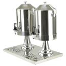 Gastro 8 Liter Milchspender Getränkedispenser aus Edelstahl