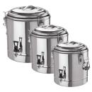 Doppelwandiger Thermogetränkebehälter 12 Liter...