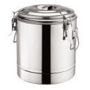 Doppelwandiger Thermospeisebehälter aus Edelstahl 12 / 22 / 35 Liter