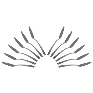 Solex Alexa Besteckset 12 Stück Fischmesser