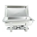 1 Stück Chafing Dish 6331 incl. GN-Behälter 1/1 65mm
