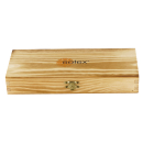 Solex Steakboxset Torro/BBQ Steakbesteckset mit Echtholzgriff in Holzbox