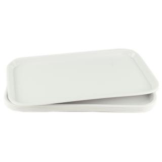 GN-Tablett 1/1 GN 5 Stück weiß