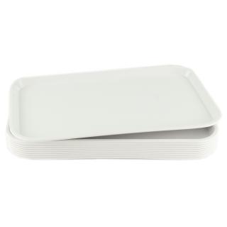 GN-Tablett 1/1 GN 10 Stück weiß