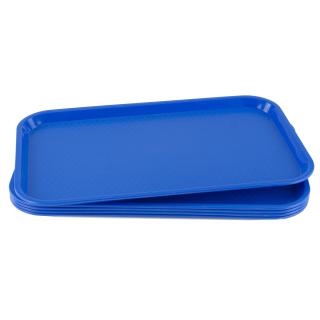 GN-Tablett 1/1 GN 5 Stück blau