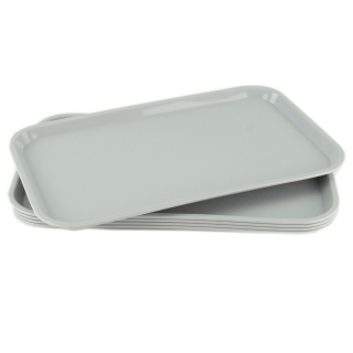 GN-Tablett 1/1 GN 5 Stück grau