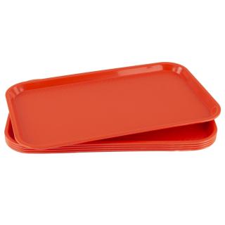 GN-Tablett 1/1 GN 5 Stück rot