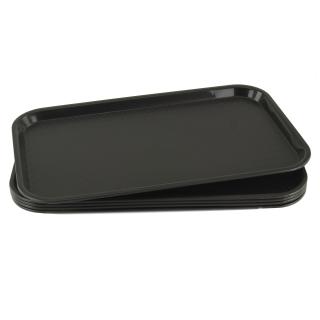 GN-Tablett 1/1 GN 5 Stück schwarz