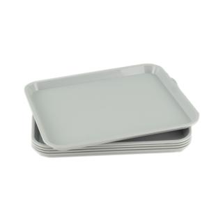 GN-Tablett 1/2 GN 5 Stück grau