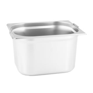 GN Behälter Gastronorm 1/2 200 mm mit Fallgriffe aus Edelstahl GVK ECO