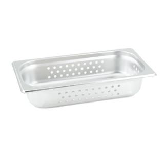 GN Behälter Gastronorm 1/3 65 mm gelocht/perforiert aus Edelstahl GVK ECO