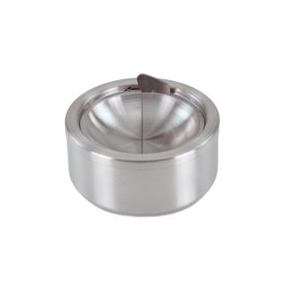 Druckaschenbecher Windaschenbecher aus Edelstahl ø 11,5 cm