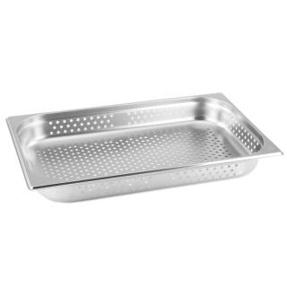 GN Behälter Gastronorm 1/1 65 mm gelocht/perforiert aus Edelstahl GVK ECO