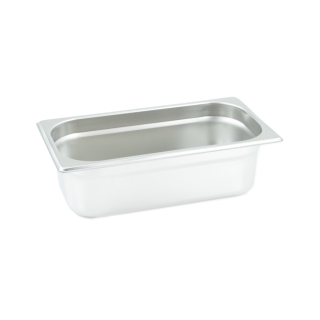 GN Behälter Gastronorm 1/3 100 mm aus Edelstahl GVK ECO