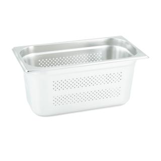 GN Behälter Gastronorm 1/3 150 mm gelocht/perforiert aus Edelstahl GVK ECO