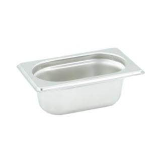 GN Behälter Gastronorm 1/9 65 mm aus Edelstahl GVK ECO