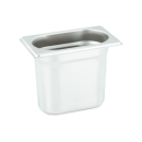 GN Behälter Gastronorm 1/9 150 mm aus Edelstahl GVK ECO