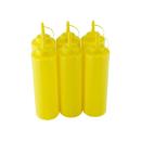 6er Set Quetschflasche Gelb 0,70 Liter